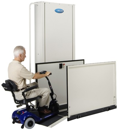 Electro-Ease vpl pl porch wheelchair elevator lift