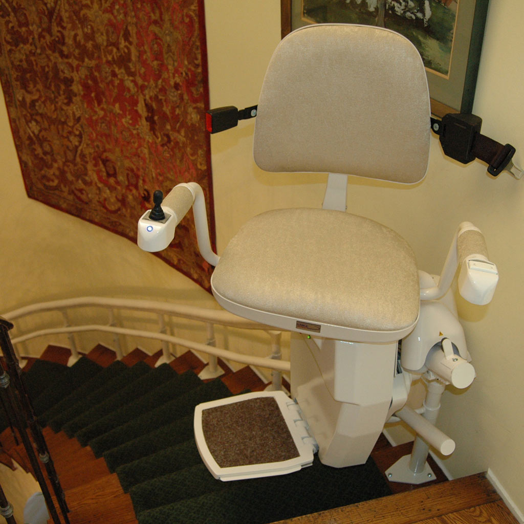 San Francisco Stair Lifts, Hawle Stair Lifts, Straight, Curved, Indoor and Outdoor