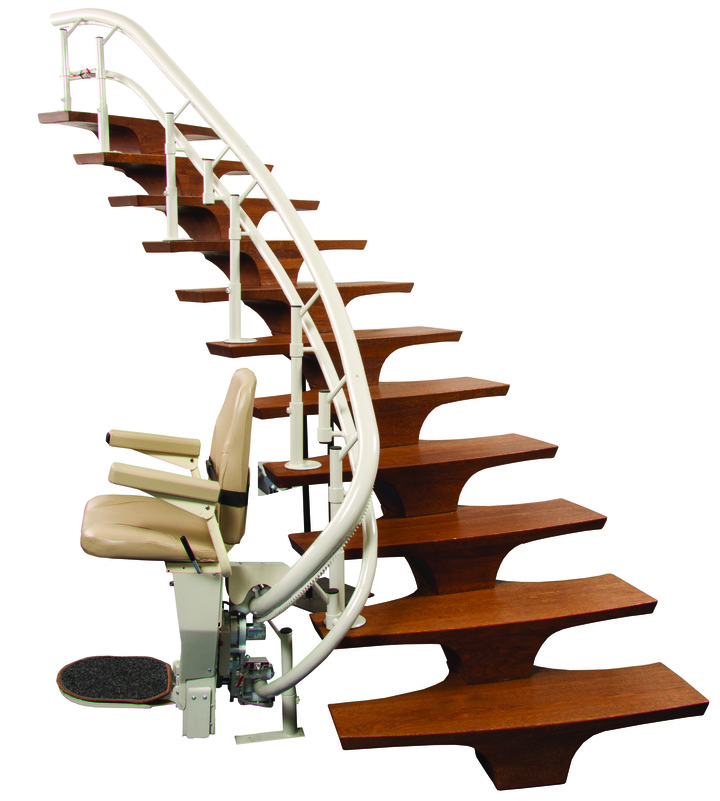 Harmar Helix rail stair chair serving bay area