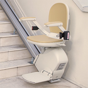 outdoor outside exterior residential home stairlifts phoenix az scottsdale sun city tempe mesa are glendale chandler peoria gilbert chandler surprise 