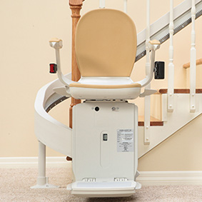 custom curved acorn 80 stairchair phoenix az scottsdale sun city tempe mesa are glendale chandler peoria gilbert chandler surprise 