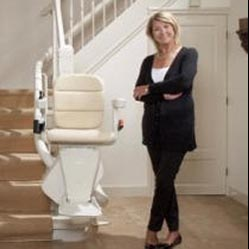 San Francisco Stair Lifts, Handicare Tubular Stair Lifts