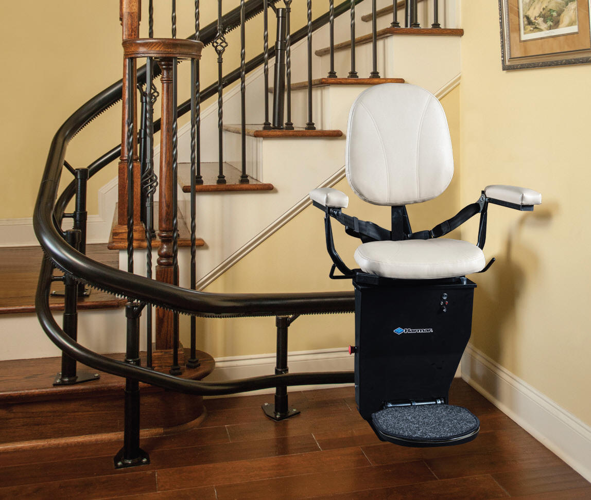 Exterior Stair Chair Lift. Image Of: Handicap Chair Lift Acorn ...
