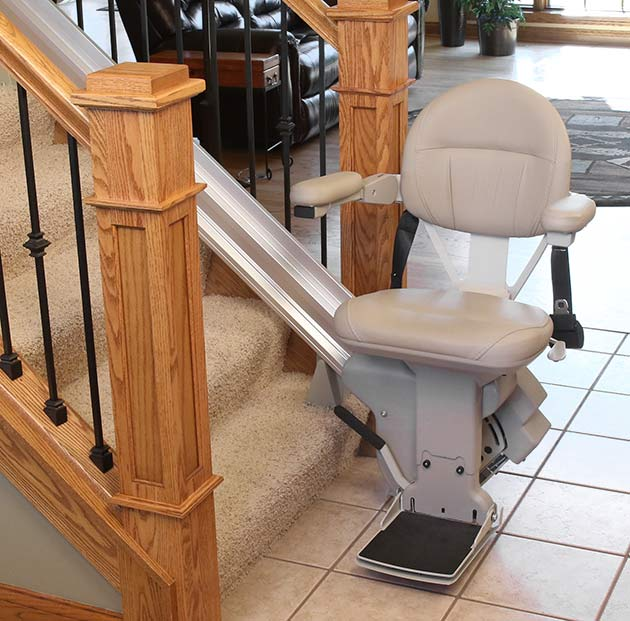 Bruno SRE2010 Elite made in the USA America straight rail stairlift